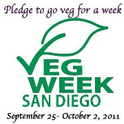 VegWeek - Pledge to go Veg, Sept 25-Oct 2, 2011